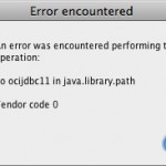 sqldeveloper error window no-ocijdbc11-i-java-library-path