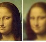 Мона Лиза - все как в тумане - когда не хватает резкости