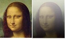 Мона Лиза - когда не лады со светом